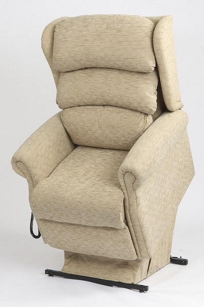 Primacare Brecon chair in raised position