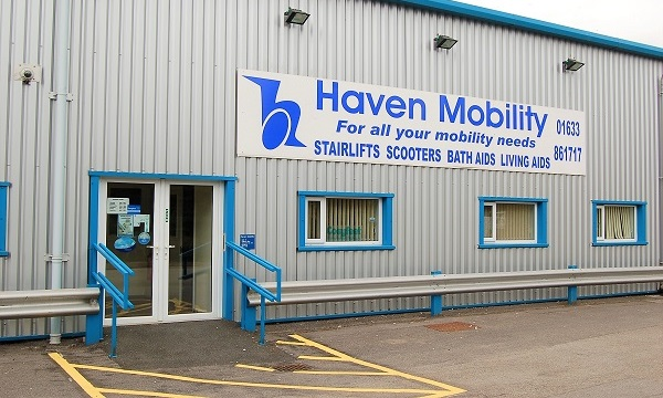 Haven Mobility showroom